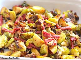 cuisiner le choux de bruxelle choux de bruxelles rôtis au bacon et parmesan mes recettes healthy