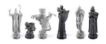 amazon com harry potter wizard chess set toys u0026 games
