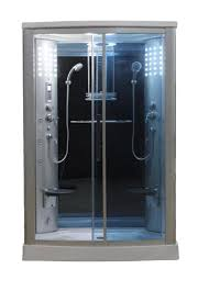 eagle bath ws 803l 110v etl certified steam shower enclosure 3kw eagle bath ws 803l 110v etl certified steam shower enclosure 3kw generator with 2 fold up seats 2 handheld showerheads acupuncture massage 12 jets and