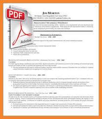 format of resume pdf bio resume samples