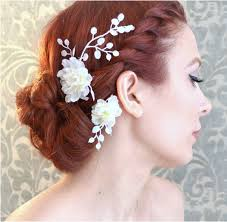 flower hair accessories flower hair accessories for weddings wedding corners