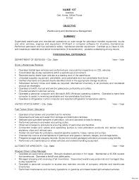 warehouse resume skills summary customer 100 objective for warehouse resume 10 makeup artist supervisor