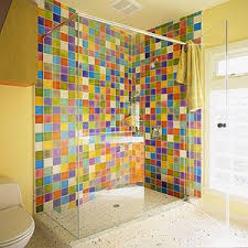 Kids Bathroom Idea Colors So Colorful It Would Be Great To Wake Up To This In The Shower