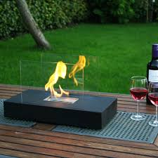 awesome outdoor bioethanol fireplace 49 about remodel minimalist