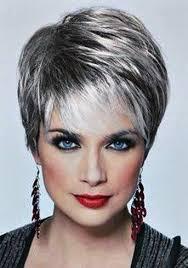 gray shag haircuts resultado de imagem para shag haircuts short hairstyles gray hair