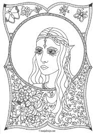 free coloring pages manja design