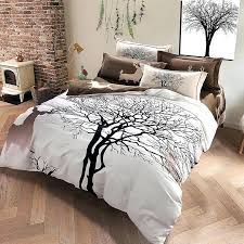 King Size Duvet Bedding Sets King Size Bed Duvet Covers Designer Deer And Tree Bedding Set