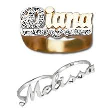 personalized rings with names personalized name jewelry custom engraved jewelry