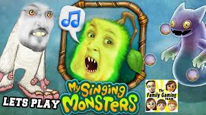 My Singing Monster Lets Play My Singing Monsters Dad Son Drum Drum Bump Dudda Bum
