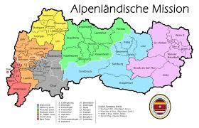 Munich Germany Map by Alpine German Speaking Mission