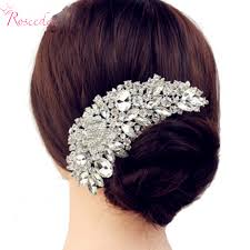 hair crystals aliexpress buy new luxury bridal wedding flower