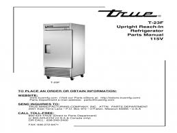 true t 23f freezer wiring diagram thermostat general electric