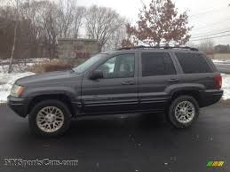 dark gray jeep grand cherokee 2002 jeep grand cherokee limited 4x4 in graphite metallic 161158