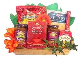 boston gift baskets indian taster gift basket