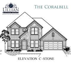 the coralbell lawson farms new home floor plan midlothian texas