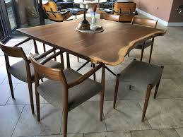 Living Edge Dining Table by Dining Tables Boulder Furniture Arts