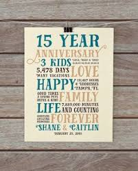 15 year anniversary gift for him 15 year anniversary present fifteen year wedding anniversary gift
