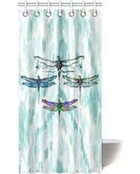 Dragonfly Shower Curtains Great Deal On Mohome Dragonfly Shower Curtain Waterproof Polyester