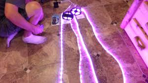 music led strip lights demo of sound activated music controlled led strip light colorado