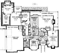 luxury home blueprints single story house plans 3800 square feet