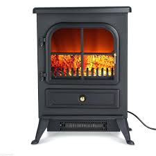 portable electric fireplace heaters home depot reviews with