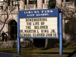should schools stay open for martin luther king jr holiday
