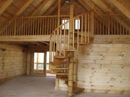 Wooden Spiral Stairs Design Oak Spiral Staircase Brown Wood Modern Rustic Design Wood Spiral