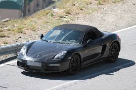 porsche boxster body kit spyshots 2016 porsche boxster facelift first photos autoevolution