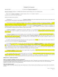 free service contract copy of an eviction notice free incident