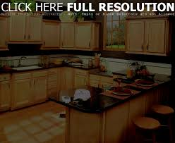 brown chery kitchen l shaped layout with island of awesome gallery