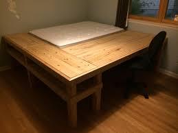 Diy Bed Desk Diy Bed Desk
