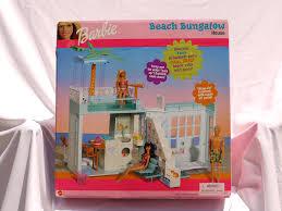 amazon com barbie beach bungalow house 1999 rare toys u0026 games