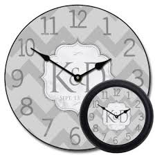 personalized wedding clocks personalized wedding clock wedding gift clock