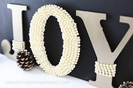 home decor letters joy letters blooming homestead