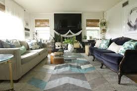 Living Room Tours - seasonal simplicity summer living room tour cassie bustamante