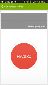 record audio android recordense a stylish audio recorder for android