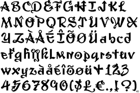 imagenes goticas letras 20 tipos de letras para dibujar graffitis y goticas imágenes