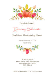free printable thanksgiving invitation templates greetings island