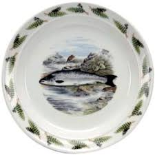 discontinued portmeirion compleat angler dinnerware