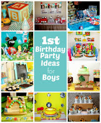 1st birthday themes for baby boy birthday decorations decorating of party