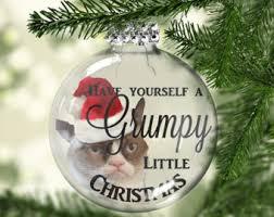 cat ornament black cat ornament cat lover gift
