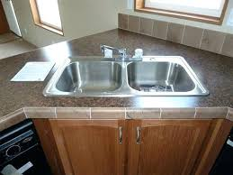 mobile home kitchen sinks 33x19 mobile home kitchen sinks brilliant sink strainer pertaining to 7