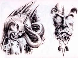 evil demon tattoo designs pictures to pin on pinterest tattooskid