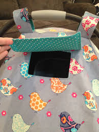 Free Carseat Canopy Pattern by Diy Car Seat Cover Tutorial Make This Adorable Car Seat Cover