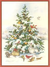 powerofbabel nanny u0027s christmas cards animal christmas