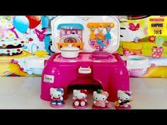 kitty cafe mini doll playset surprise pack sanrio toy