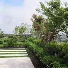 amenagement terrasse paris création des jardins d u0027un groupe de réassurance paris