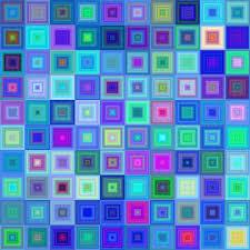 Hintergrundmuster Blau Kostenlose Illustration Blau Quadrat Hintergrund Muster