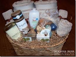 bridal shower gift basket ideas delightful order relaxation gift basket idea