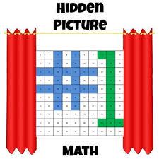 hidden picture algebra evaluate expressions math fun by